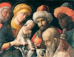 l'adorazione dei magi di mantegna