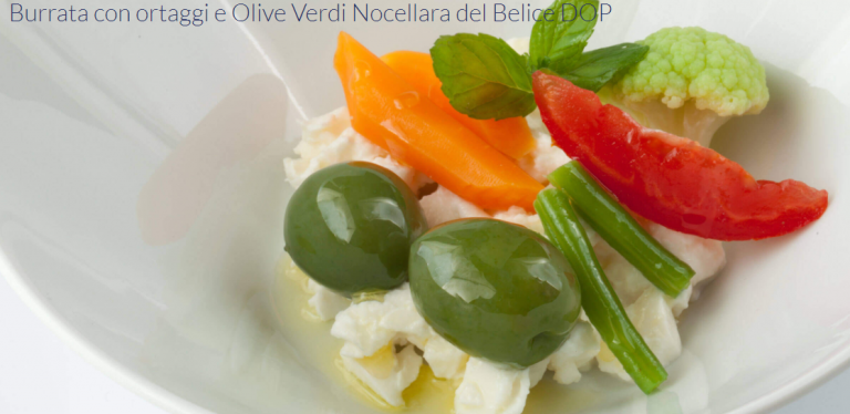 Le Olive da tavola Nocellara del Belice e l'olio Valle del Belice