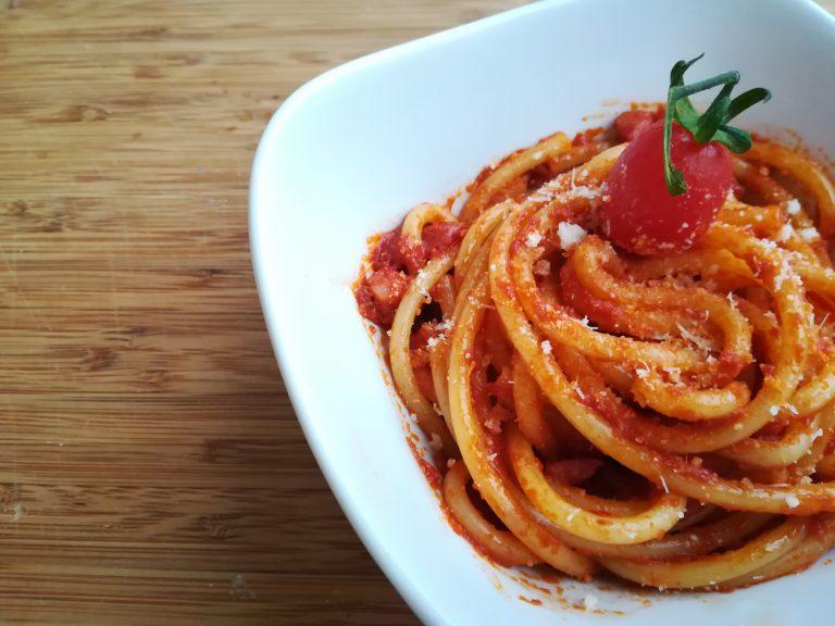 La ricetta tradizionale dell'Amatriciana